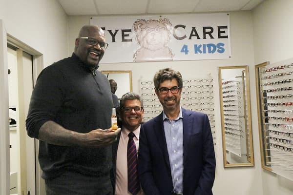 Shaq endorsing EyeCare4Kids
